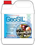 GeoSIL disinfectants are highly effective universal disinfectants